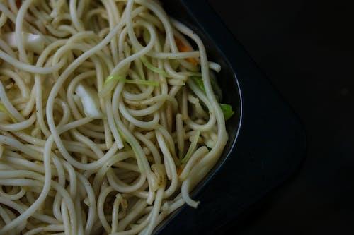 Kostnadsfri bild av chowmein, grönt nudlar, hakkah nudlar, maggi