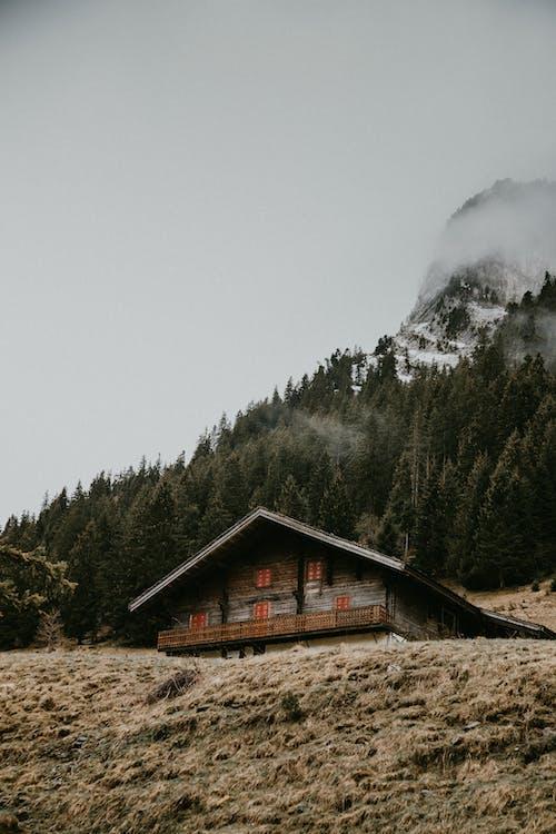 Immagine gratuita di casa, chalet, esterno, francia