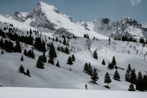 Kostnadsfri bild av berg, frankrike, kall, landskap