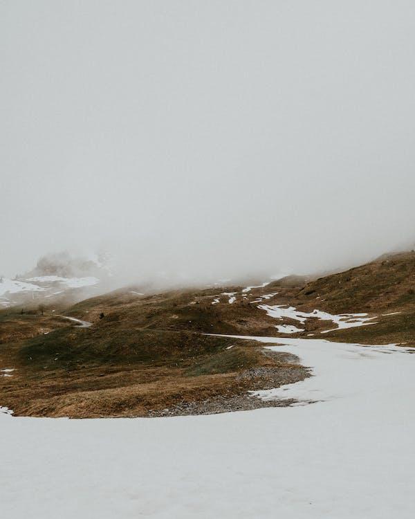 cestovať, chladný, col des annes