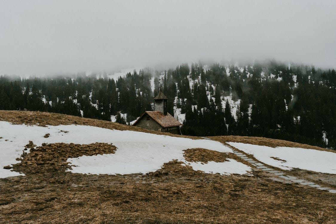 col des annes, 下雪的, 似雪