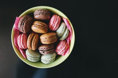 お菓子, デザート, フード, ボウルの無料の写真素材