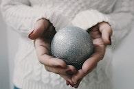 hands, woman, blur
