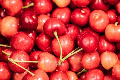 Бесплатное стоковое фото с вишни, обои 4k, обои еда