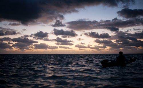 Free stock photo of clouds, Florida Keys, Islamorada, kayak
