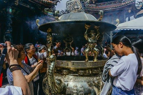 人群, 仪式, 信仰, 儀式 的 免费素材照片