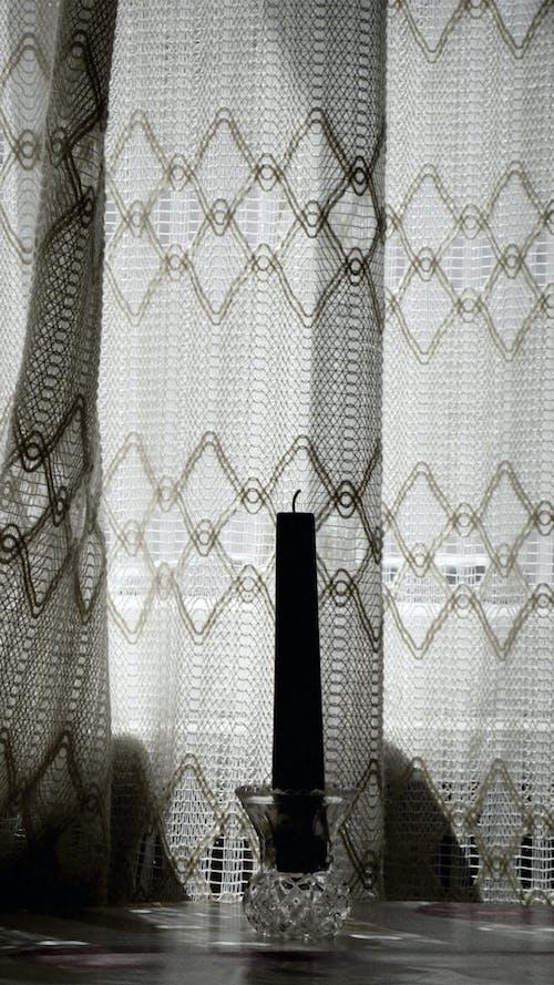 Free stock photo of blackandwhite, candle, day, retro