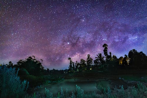 Free stock photo of milkyway, nightscape, nightsky