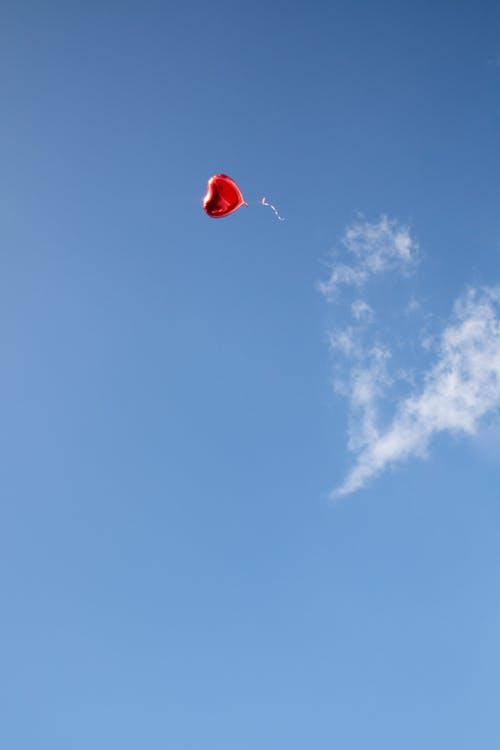 Photo of Heart-Shaped Balloon