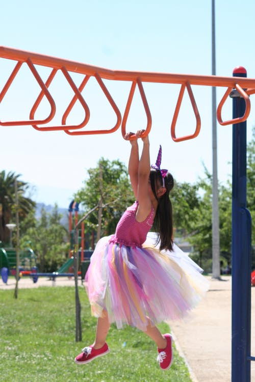 Free stock photo of child, city park, play area
