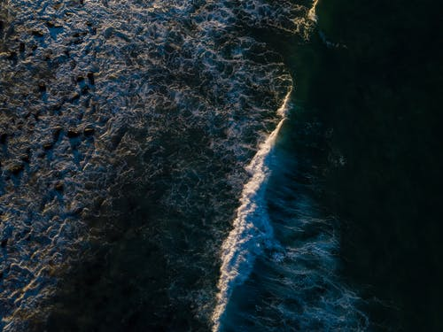 Bird's Eye View Of Ocean
