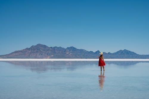 Бесплатное стоковое фото с активный отдых, вода, гора, дневной свет