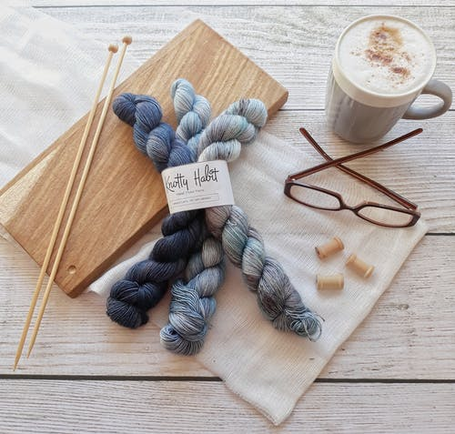 Free stock photo of coffee, crochet, knit