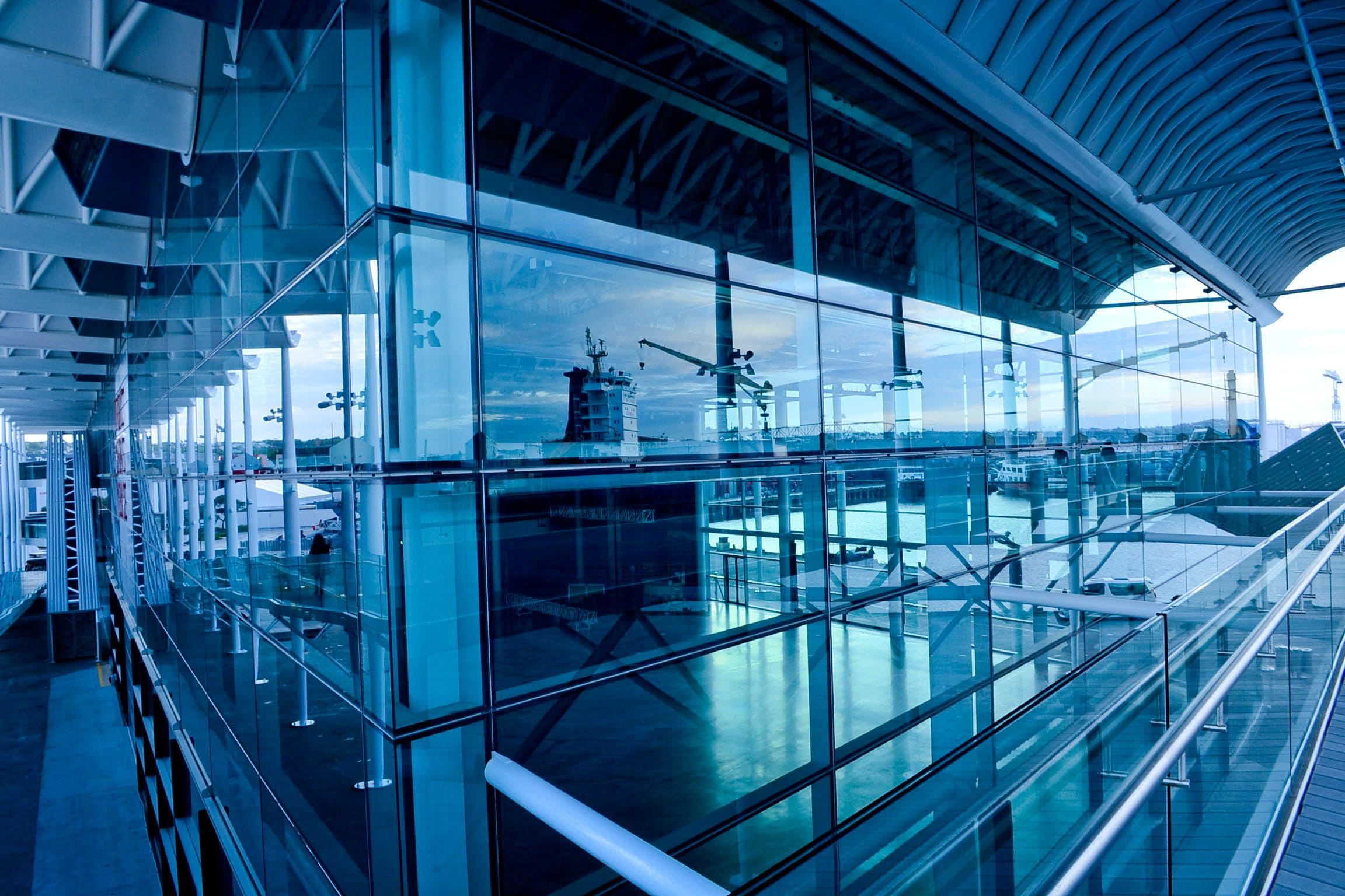 airport, architecture, building