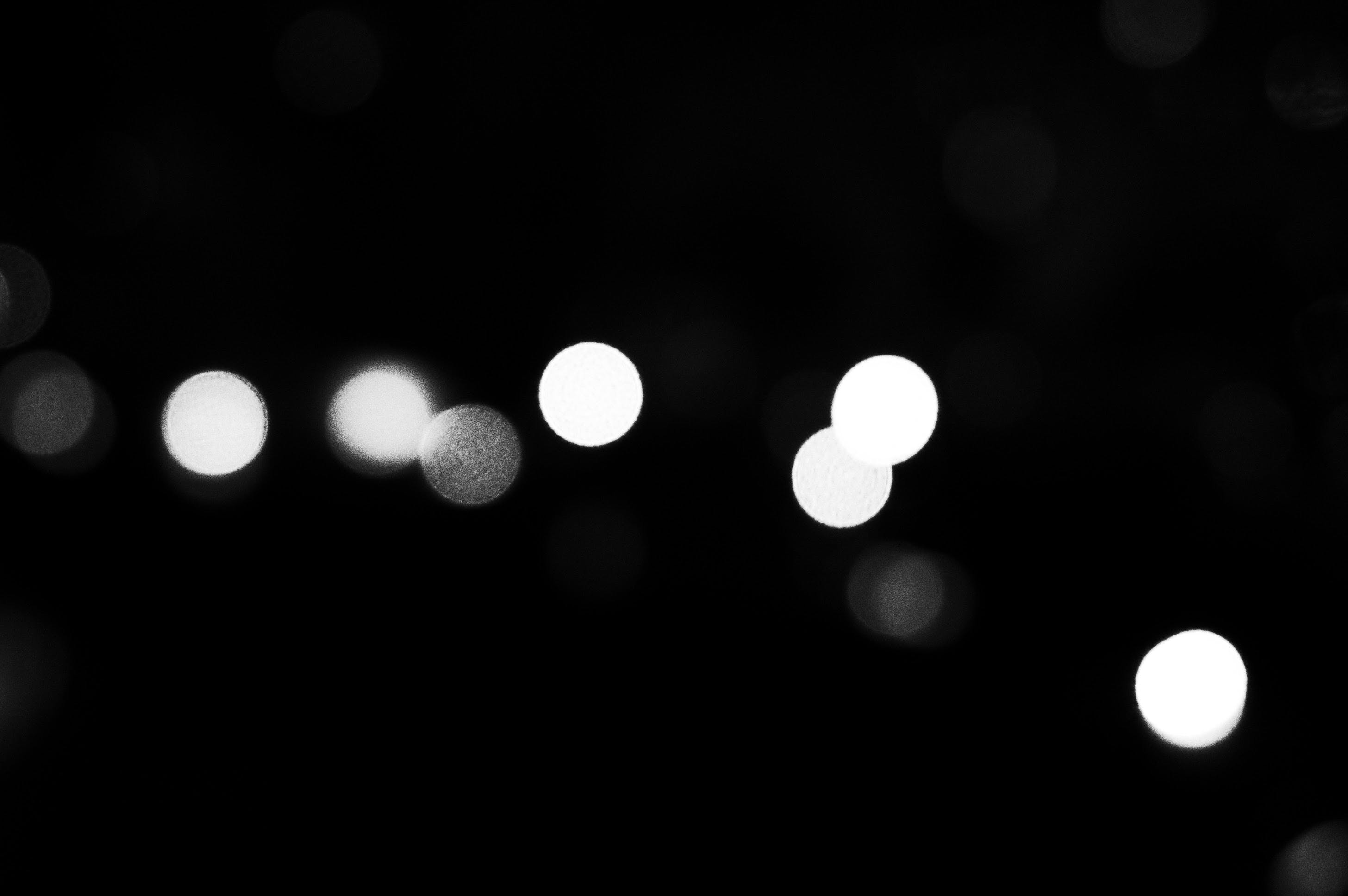 Free stock photo of black and white, bokeh, busan