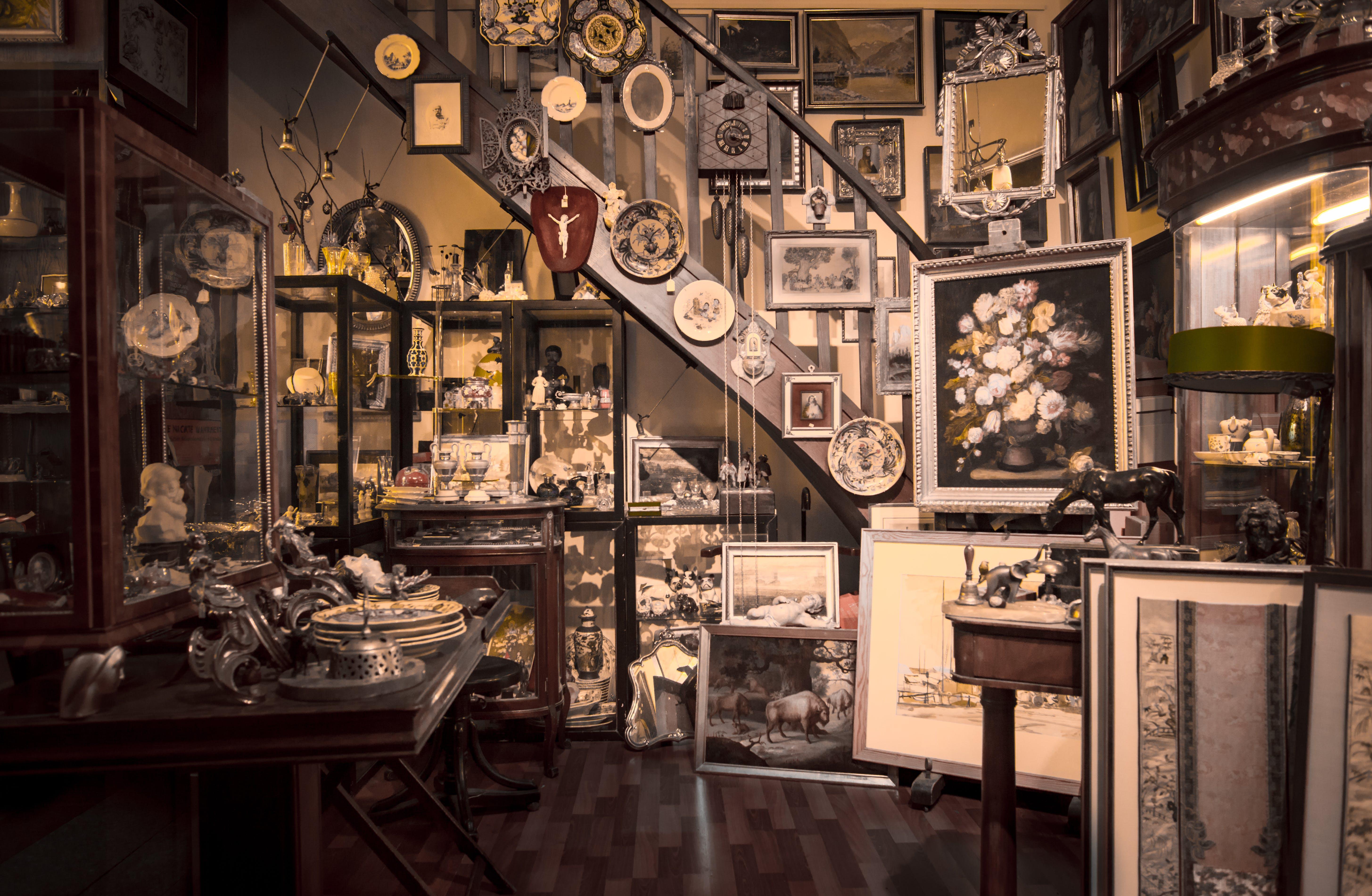 Free stock photo of vintage, shop, antique, store