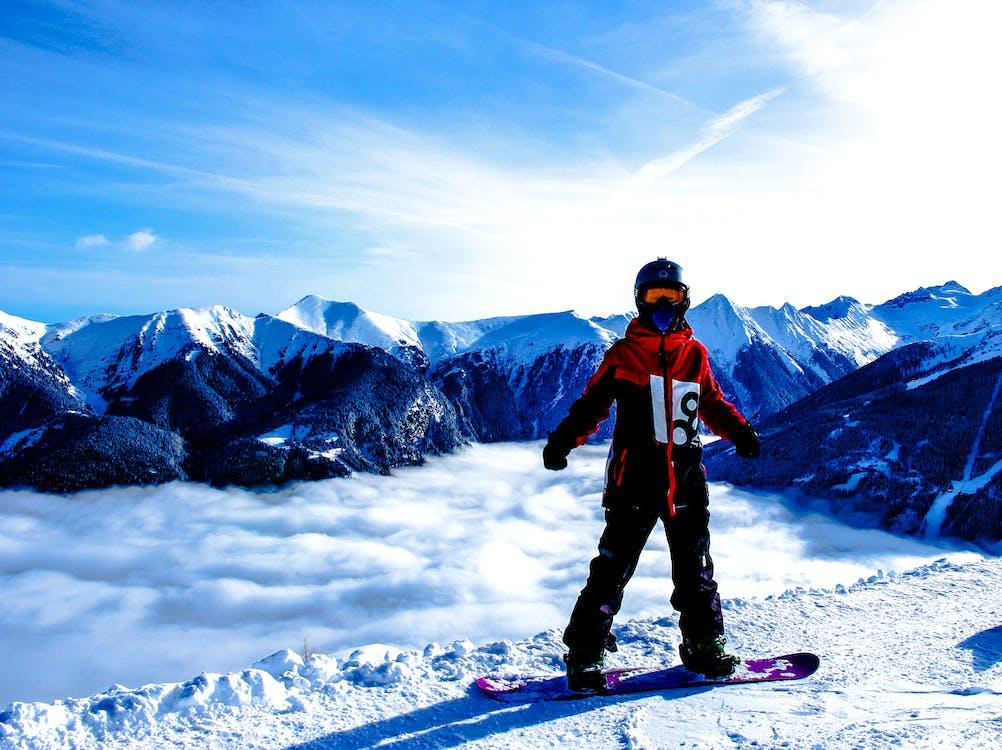 Gratis lagerfoto af alpin, bjerg, bjergtinde