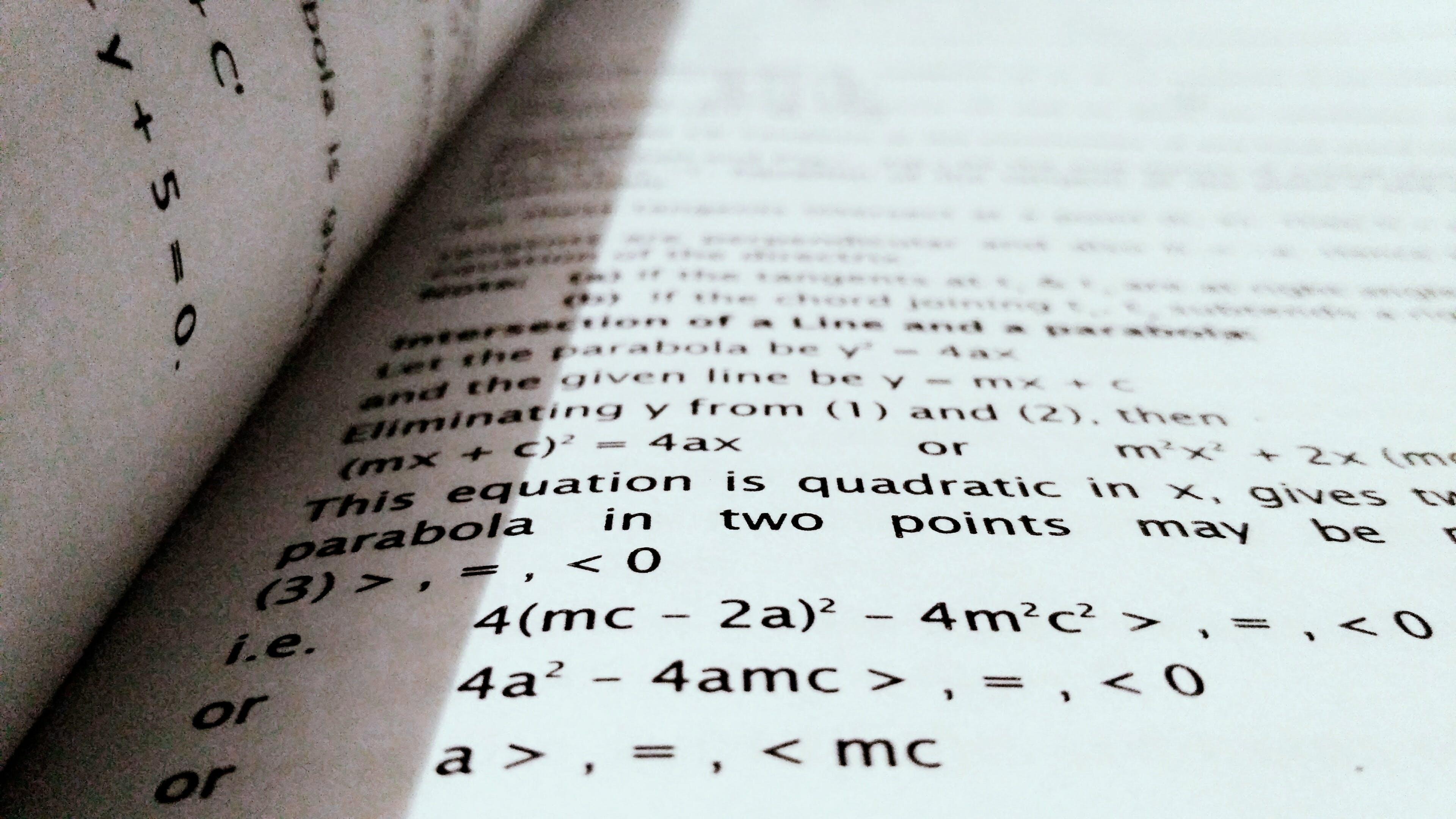 black-and-white, blur, book