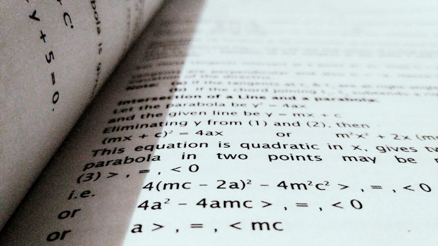 Free stock photo of black-and-white, mathematics, school, blur