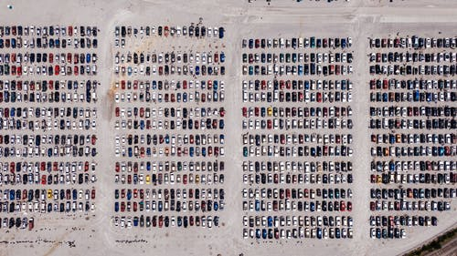 Free stock photo of aerial, aerial photography, cars, chattanooga