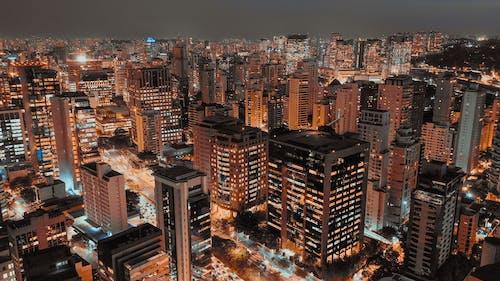 Kostnadsfri bild av arkitektonisk design, byggnader, finans, högvinkelskott