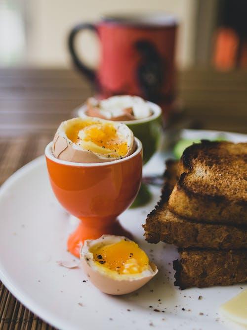 Orange Ceramic Devilled Egg Stand