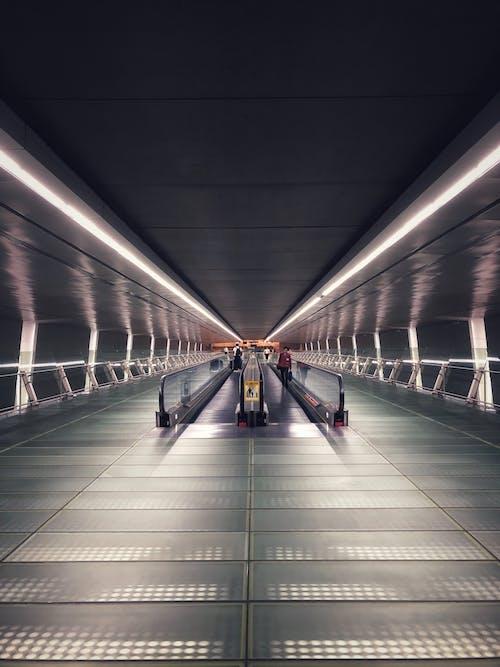 Fotos de stock gratuitas de acero, adentro, aeropuerto, arquitectura