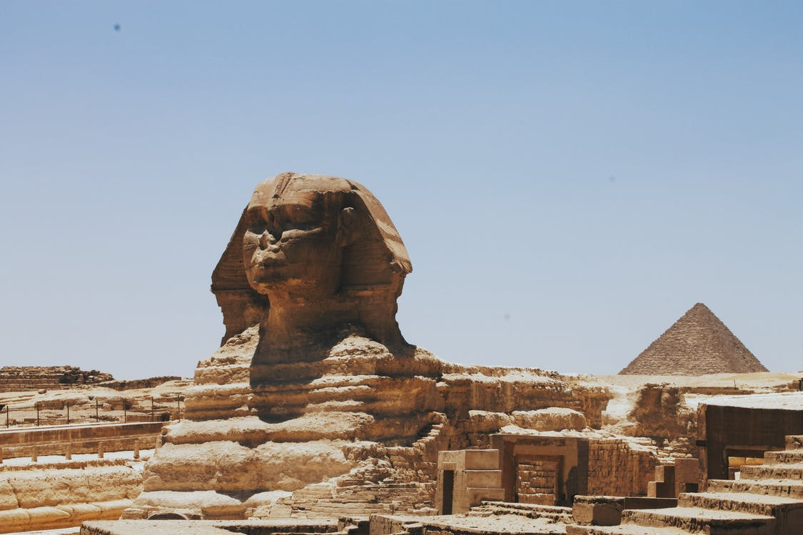 Great Sphynx of Giza, Egypt