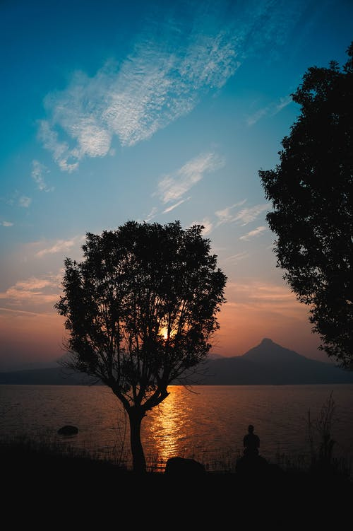 Free stock photo of #lake#sunrise#sonyalpha