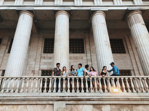 Fotos de stock gratuitas de amistad, arquitectura, atracción turística, balcón