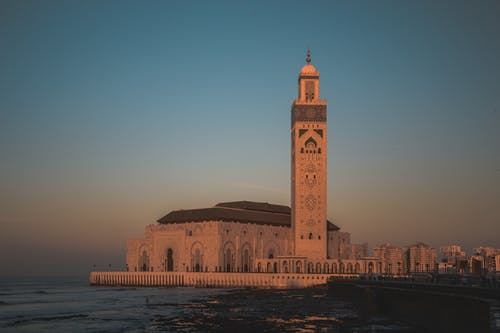 Architectural Photography of Hassan II Mosque