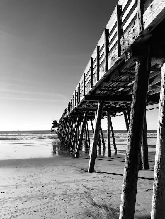 bãi cát, bến tàu, bến tàu gỗ
