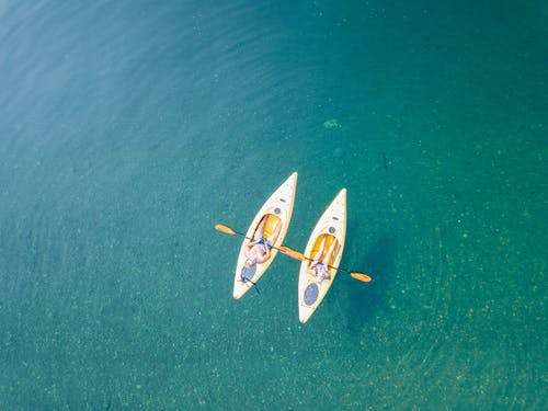 休閒, 假期, 冒險, 划獨木舟 的 免费素材照片