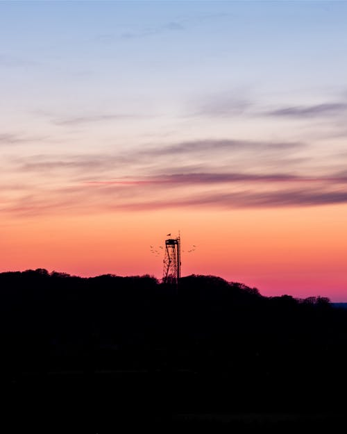 Free stock photo of The Aalborg Tower during sunset
