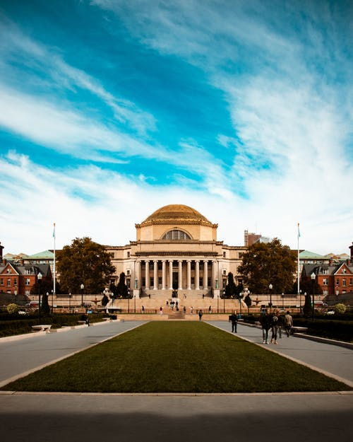 Free stock photo of Columbia University