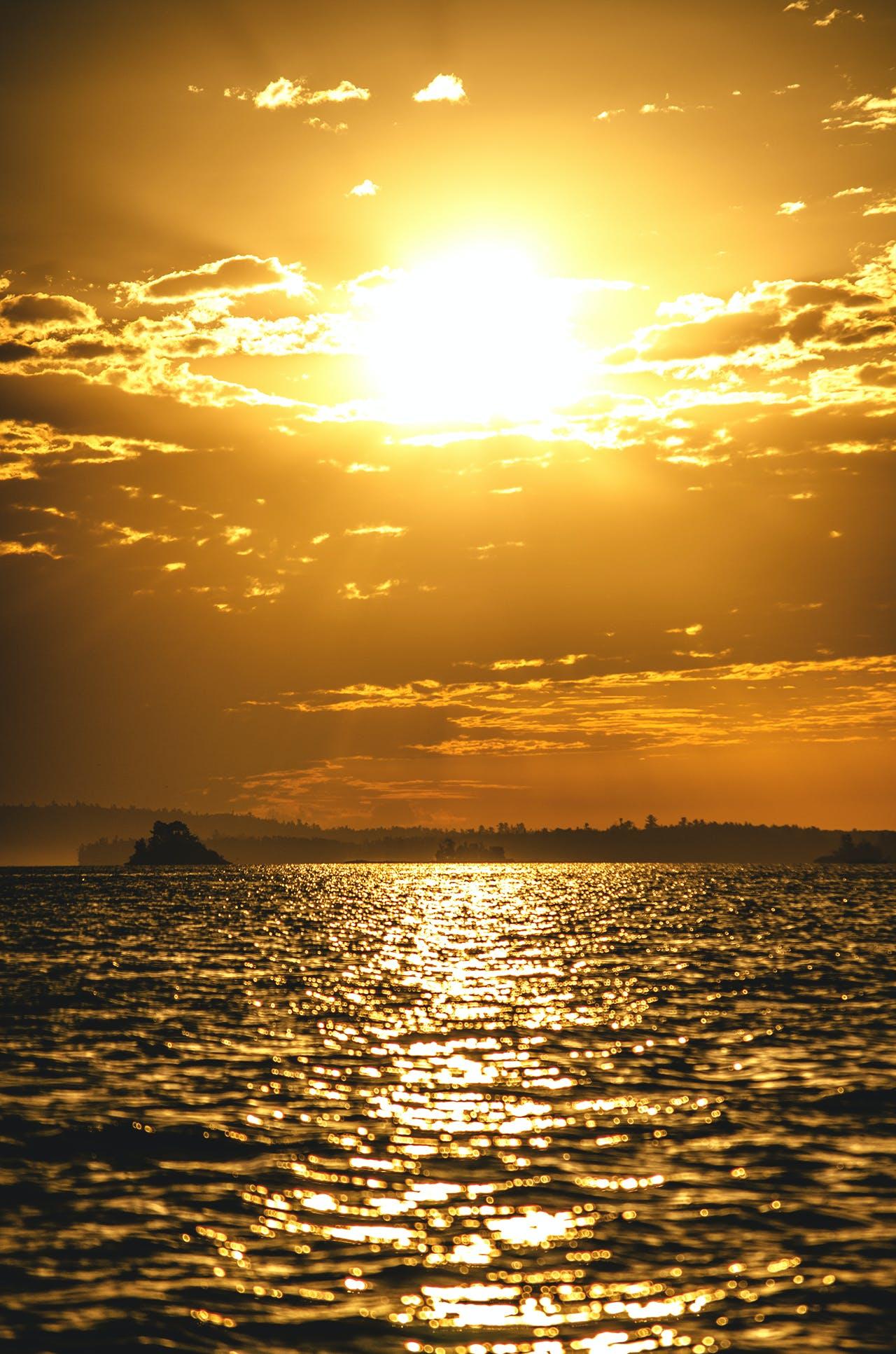 Free stock photo of cloud, nature, sun, sunset