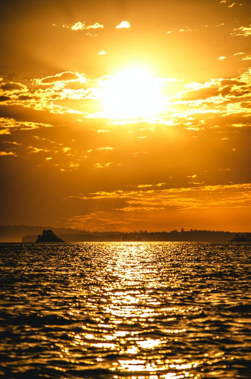Gratis stockfoto met natuur, wolk, zon, zonsondergang