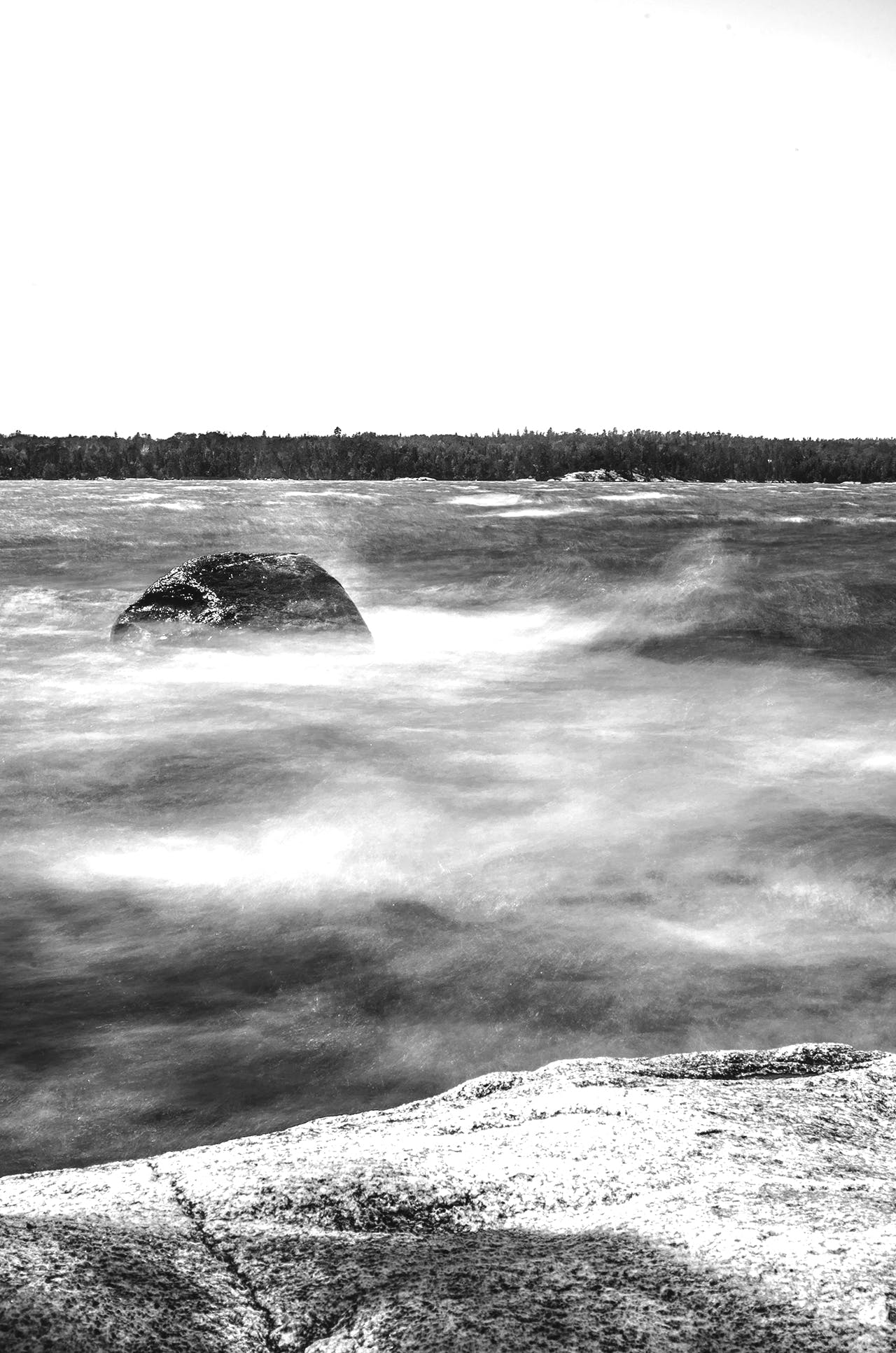 Free stock photo of black and white, long exposure
