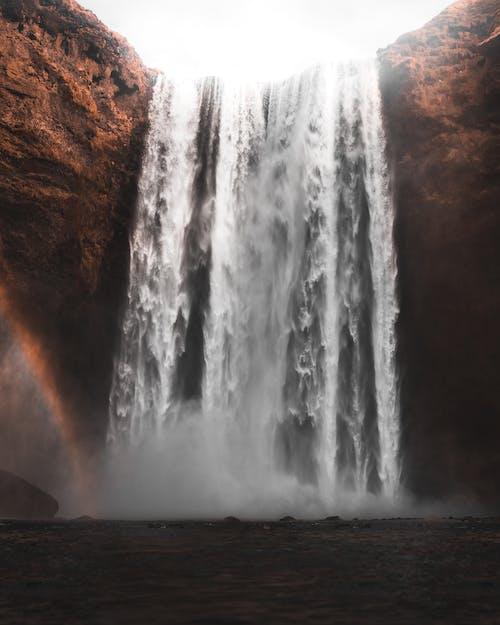 Kostnadsfri bild av dagsljus, flod, kaskad, klippa