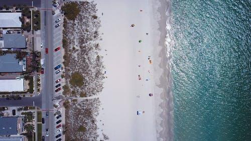 俯視圖, 假期, 和平的, 夏天 的 免費圖庫相片