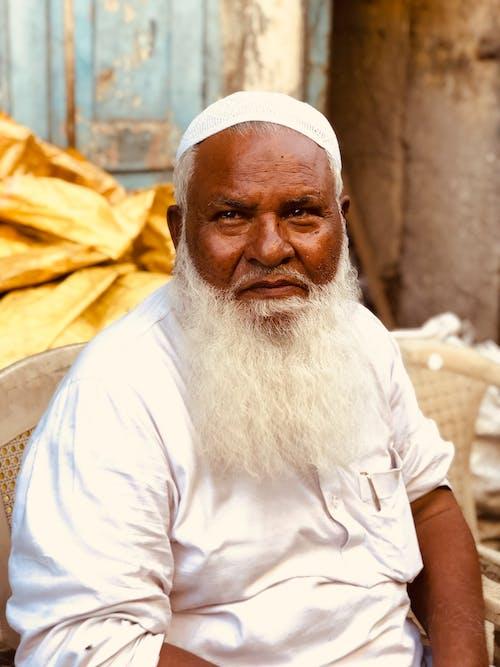 Fotos de stock gratuitas de adulto, anciano, barba abundante, cara