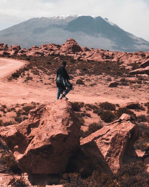 Kostnadsfri bild av afroamerikansk man, äventyr, dagsljus, fotografering
