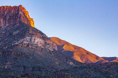 Gratis stockfoto met amerika, bergen, blauwe lucht, dageraad