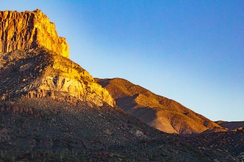Gratis stockfoto met amerika, apache lake, bergen, blauwe lucht