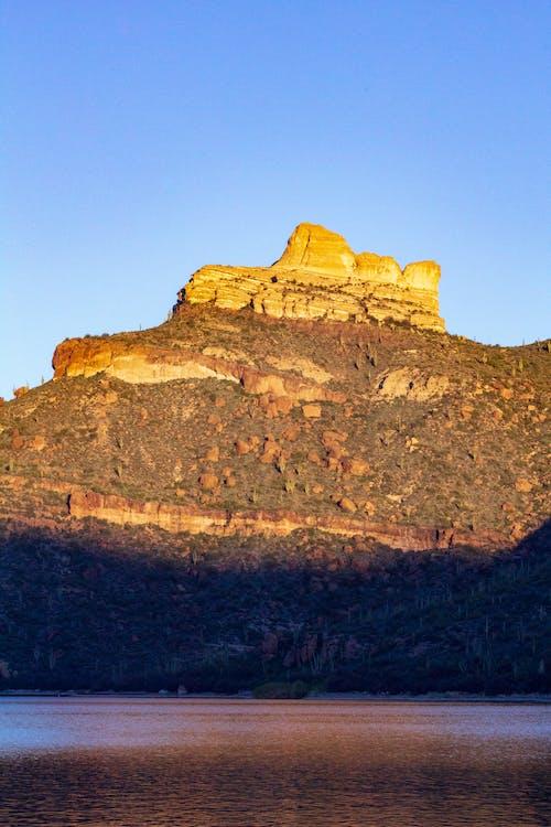 Gratis stockfoto met amerika, apache lake, berg, bergen