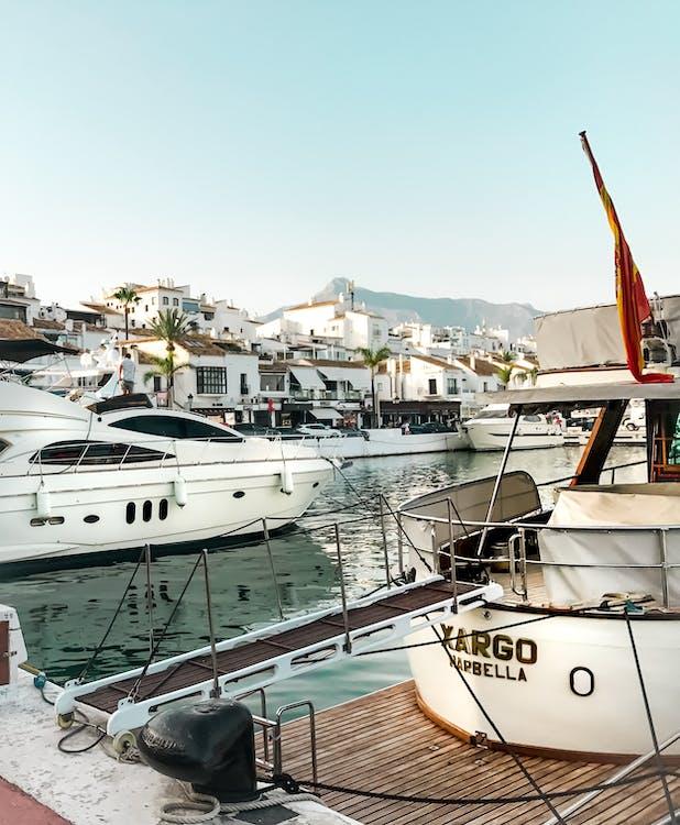 View of Yachts at Marina