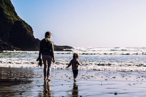 aile, anne, anne ve kız, anne ve kızı içeren Ücretsiz stok fotoğraf
