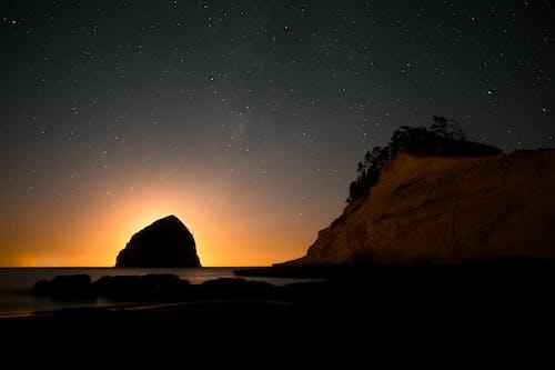 Fotos de stock gratuitas de al aire libre, amanecer, anochecer, cielo estrellado