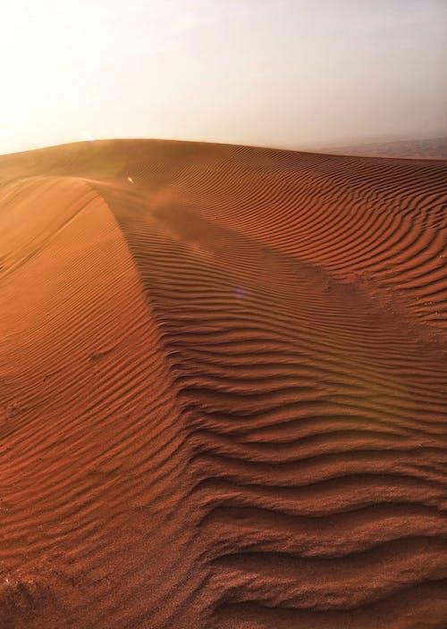 Foto d'estoc gratuïta de a l'aire lliure, àrid, desert, dunes