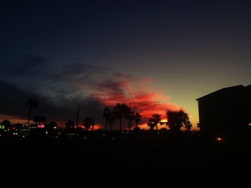 คลังภาพถ่ายฟรี ของ กัลเวสตัน, ชายหาด, ตะวันลับฟ้า, พระอาทิตย์ตก